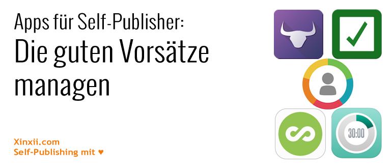 Apps für Self-Publisher: Die guten Vorsätze managen