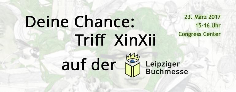 Triff XinXii auf der Buchmesse in Leipzig